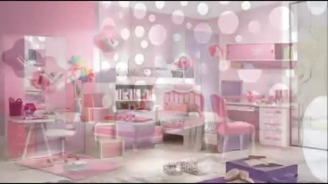 ایده هایی برای دکور اتاق دخترانه 1