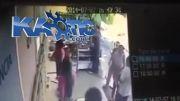 کشته شدن دزد درحال سرقت به دست کارمند