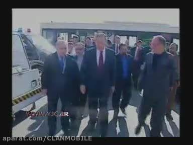 لحظه ورود لاروف به تهران