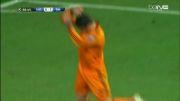 گل ششم رئال مادرید مقابل شالکه (کریستیانو رونالدو)