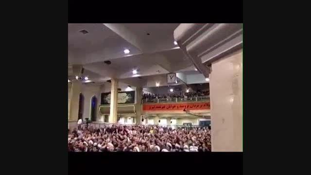تاکید رهبری بر تحریم ایران