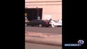 فیلم درگیری پا پلیس دینی عربستان برای رهایی یک دختر