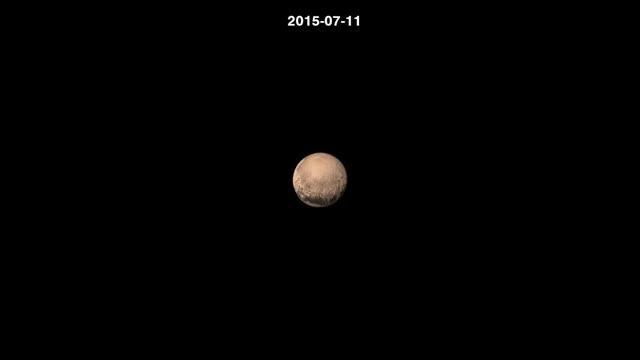 تصاویر جدید از سیاره پلوتو