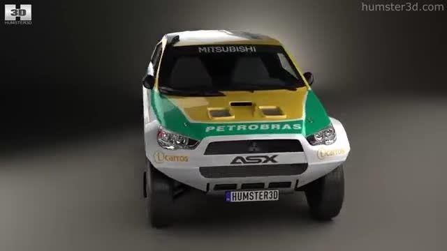 سه بعدی Mitsubishi ASX dakar