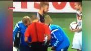 «سنگ کاغذ قیچی» بازیکن آلمان و اسکاتلند