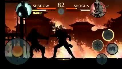 shadow fight2 vs shogun