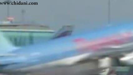 ورود پرنده به موتور هواپیما