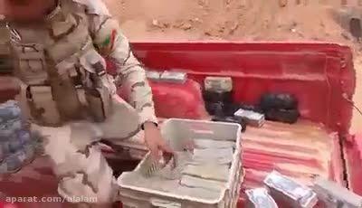 توقیف خودرو حمل پول داعش