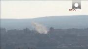 تشدید حملات هوایی به شهر کوبانی