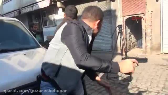 تصاویر اولیه لحظه گلوله خوردن وکیل ترکیه ای طرفدار کرد