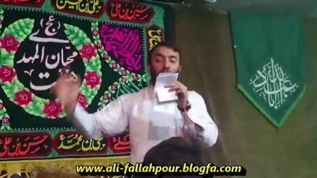 کربلائی علی فلاح پور میلادحضرت علی ع 1394هیئت عشاق1