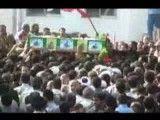 مراسم تشییع پیکر شهیدان موسوی و صفری تبار