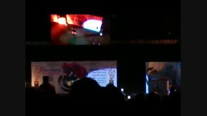 اجرای شعر حافظ توسط رضا یزدانی در جشن حافظ