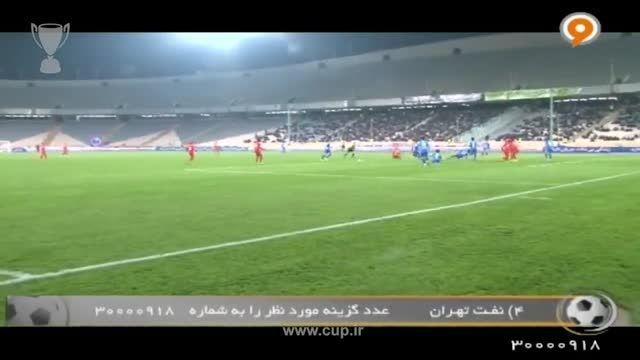 َشب های فوتبالی؛کنفرانس خبری بعداز بازی استقلال - فولاد
