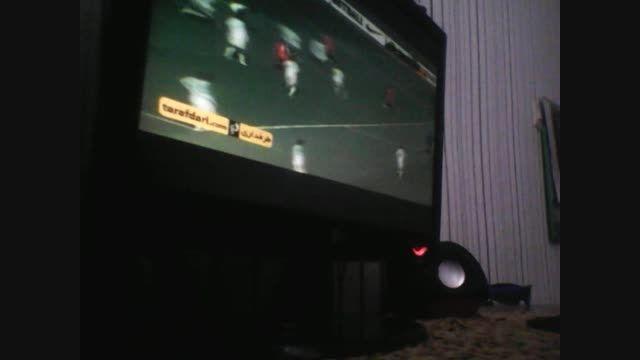 بازی تراکتور با الاهلی عربستان  با گزارچشگر ۱۲ساله