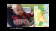 واکنش کودک پس از شنیدن صدای شیر