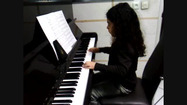 پیانونوازی کسری رشیدی فر
