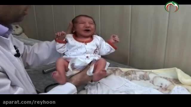 مراقبت و معاینات اولیه نوزاد