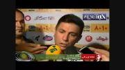 عذرخواهی  امیر قلعه نویی از هواداران استقلال!!