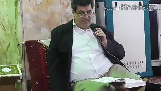 محفل آموزش قرآن - جواب قرار حجاز استاد جعفر قلی