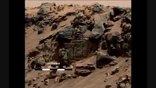 تصاویر وجود آب در مریخ