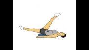ورزش هایی برای آب کردن چربی های شکم