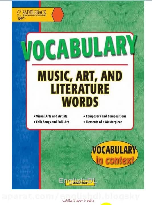دانلود کتاب Music, Art and Literature Vocabulary
