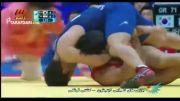 بازی های آسیایی(کشتی-ناداوری علیه عبدولی در نیمه نهایی)