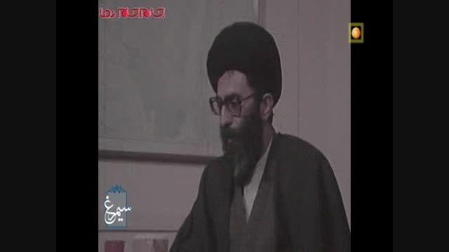 دیدار مقام معظم رهبری با عوامل بازداشت شده لانه جاسوسی