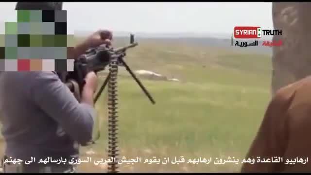 انفجار دسته جمعی داعشی ها توسط خمپاره - عراق -سوریه
