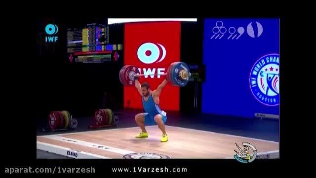 نایب قهرمانی پرمدال ترین وزنه بردار ایران