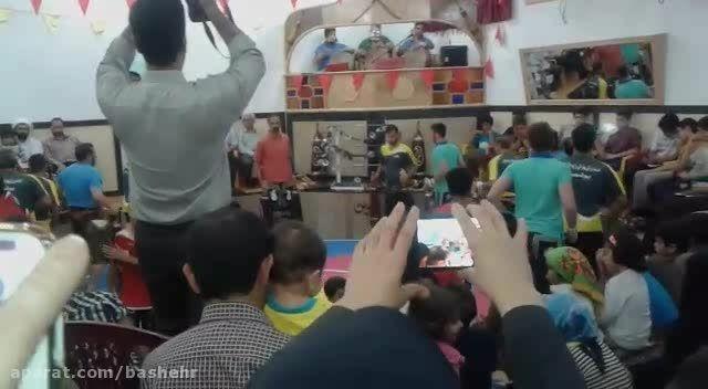 زورخانه علی بن ابیطالب (ع) نیروگاه اتمی بوشهر 93