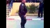 رقصیدن فرمانده نظامی اسراییل