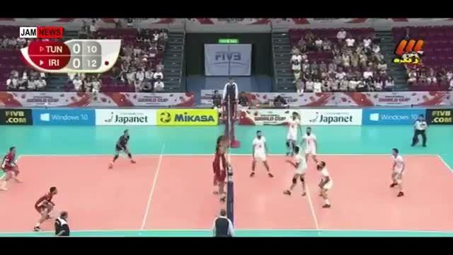 ایران 3 - تونس 1 | جام جهانی ۲۰۱۵