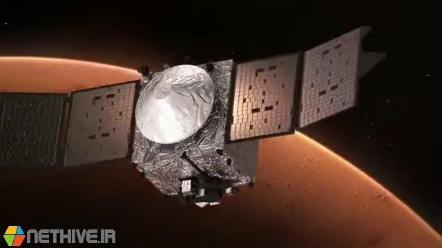 تاثیر توفان خورشیدی بر عدم وجود حیات در مریخ