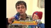 چهره فضایی یک ایرانی