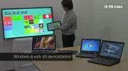 قابلیت نمایش صفحه بدون سیم و مالتی تاچ