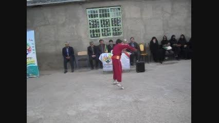 حرکات دانش آموز بجنوردی در المپیاد مدرسه ای