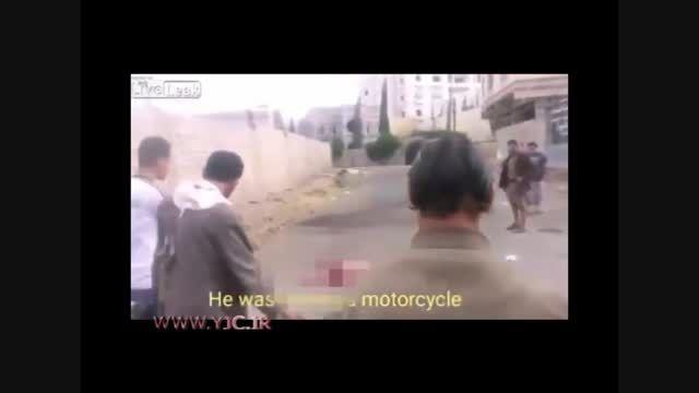 جان سختِ داعشی پس از عملیات انتحاری زنده ماند! +18