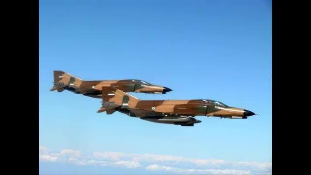 مانور مشترک بین نیروی هوایی ایران،امریکا و انگلیس