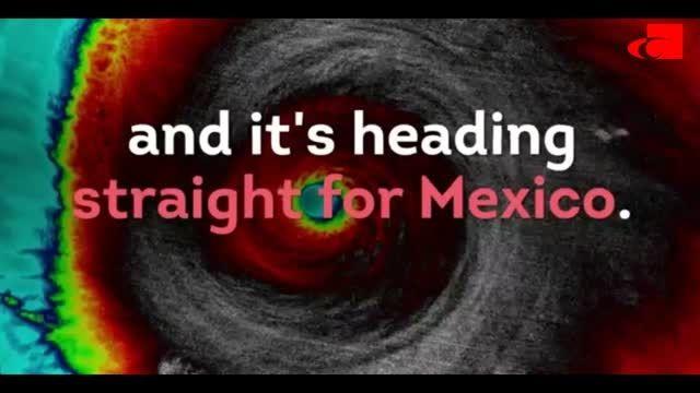 پیش بینی طوفان سهمگین پاتریشیا در مکزیکو