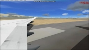 اولین هواپیمای ایرانی در شبیه سازم در فرودگاه ایرانی...