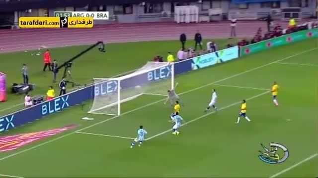 گزارشی از تساوی آرژانتین و برزیل در مقدماتی جام جهانی