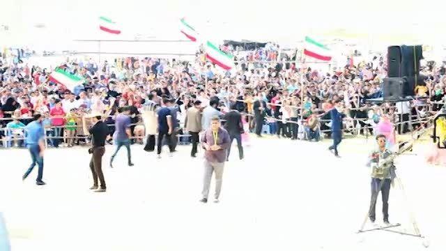 اولین کنسرت 30 هزار نفری در ایران (پویان مختاری-سیچه 2)