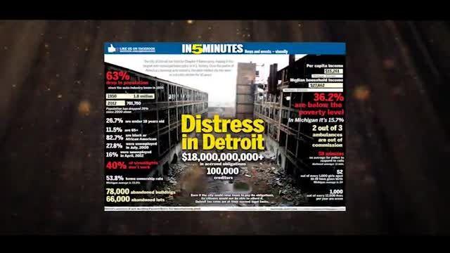 ورشکستگی فاجعه بار چهارمین شهر صنعتی آمریکا