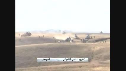 حفر خندق در موصل توسط داعش