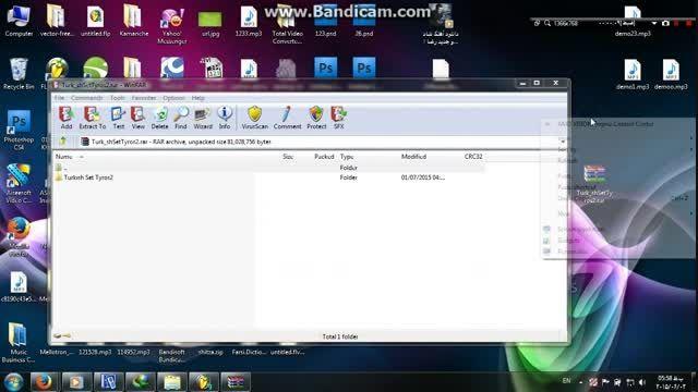 خروج فایل از حالت فشرده یا همون اکسترکت
