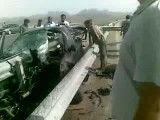 تصادف دلخراش جاده اصفهان به تهران