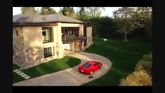 خانه رویایی با ماشین های میلیاردی