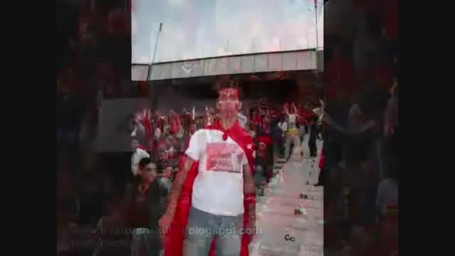 طرفداران تیم تراکتورسازی تبریز
